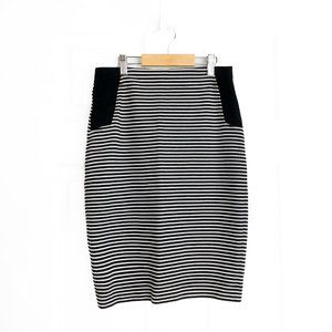 BCBGMAXAZRIA Striped Skirt XS